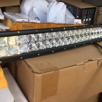 22 inches 5D Curved LED bar 200w
