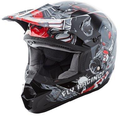 Fly Invasion Helmet Grey
