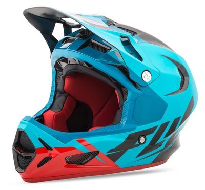 Fly WERX Carbon Teal/Red/Blue