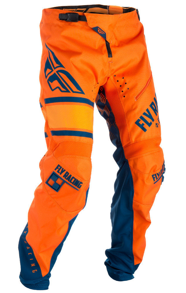 Fly Kinetic Era Pant Orange/Blue