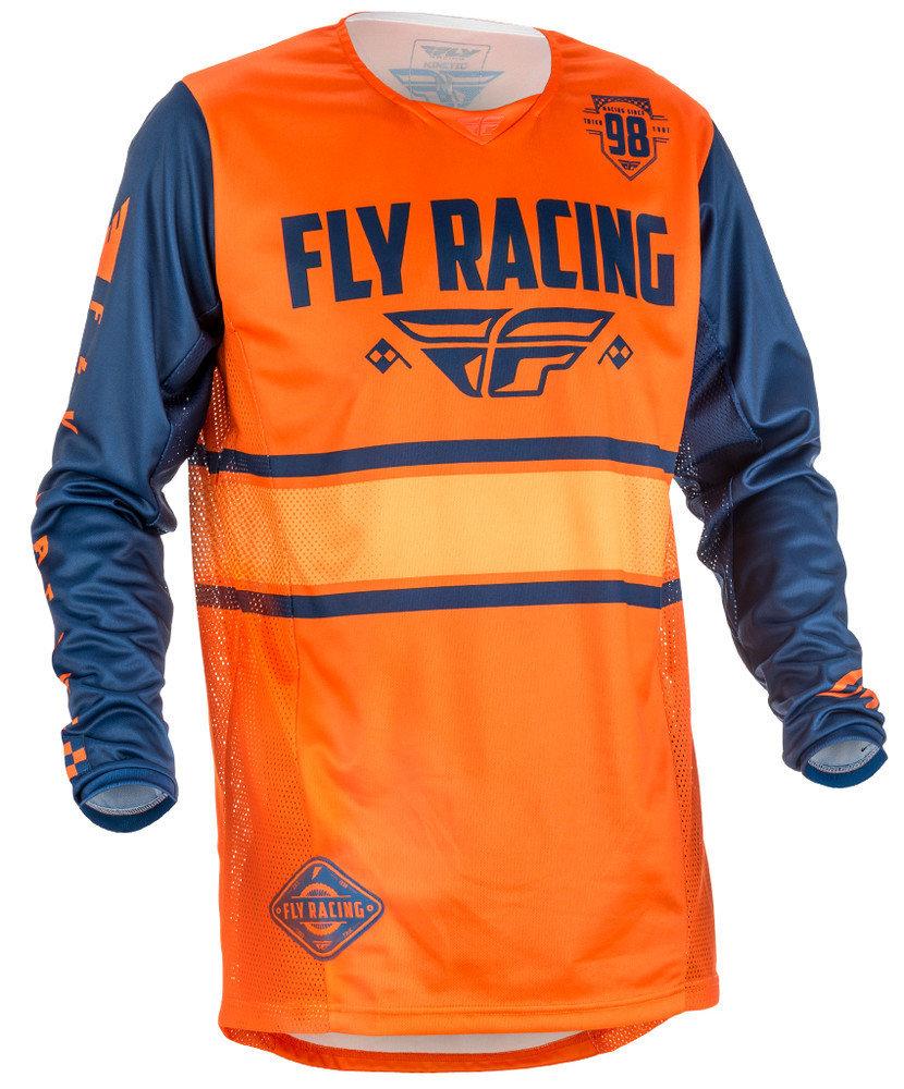 Fly Kinetic Era Jersey Orange/Blue