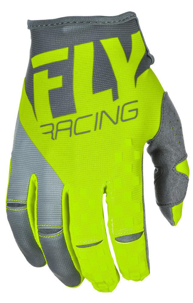 Fly Kinetic Era Glove Hi-Viz/Grey