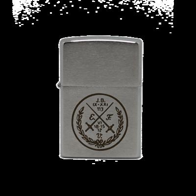 Benzinfeuerzeug - Der rauchende Bursch - (Zippo)