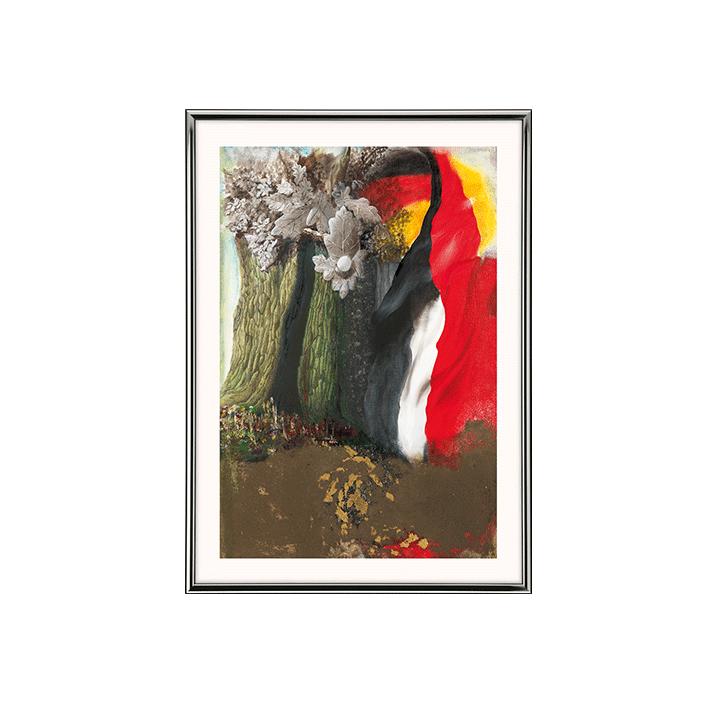 Die deutsche Eiche (Kunstdruck)