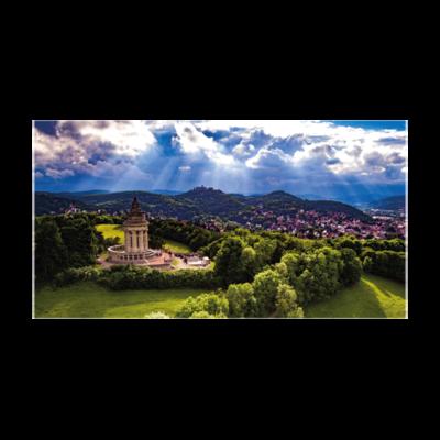 Burschenschaftsdenkmal bei Tag (Maxi Postkarte im 10er Pack)