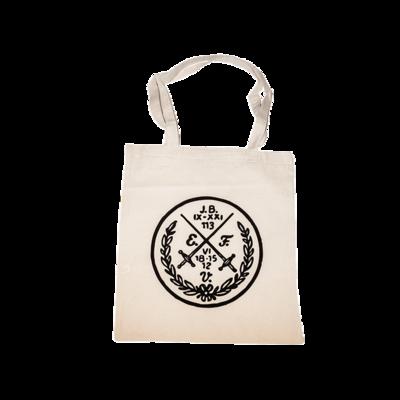 Baumwollbeutel (Null-Prozent-Hipster) mit Siegel