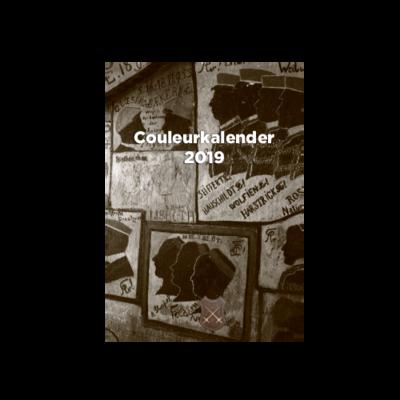 Sonderedition Couleur-Kalender 2019