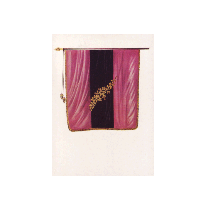 Fahne der Jenaischen Burschenschaft 1816