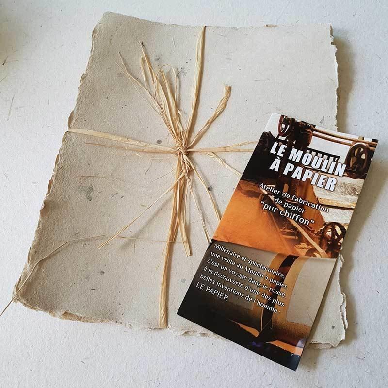 Lot de 5 feuilles format 1/4 de Raisin