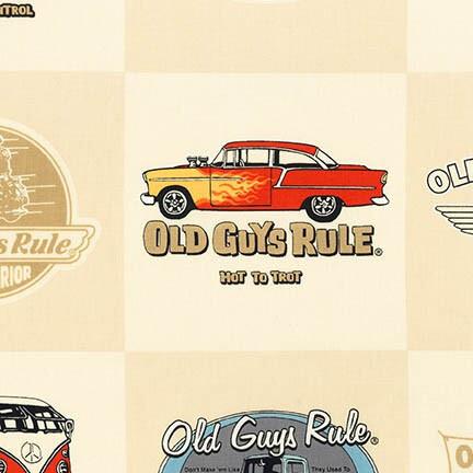 N005 AOD-16712-14 Natural Old Cars by Robert Kaufman