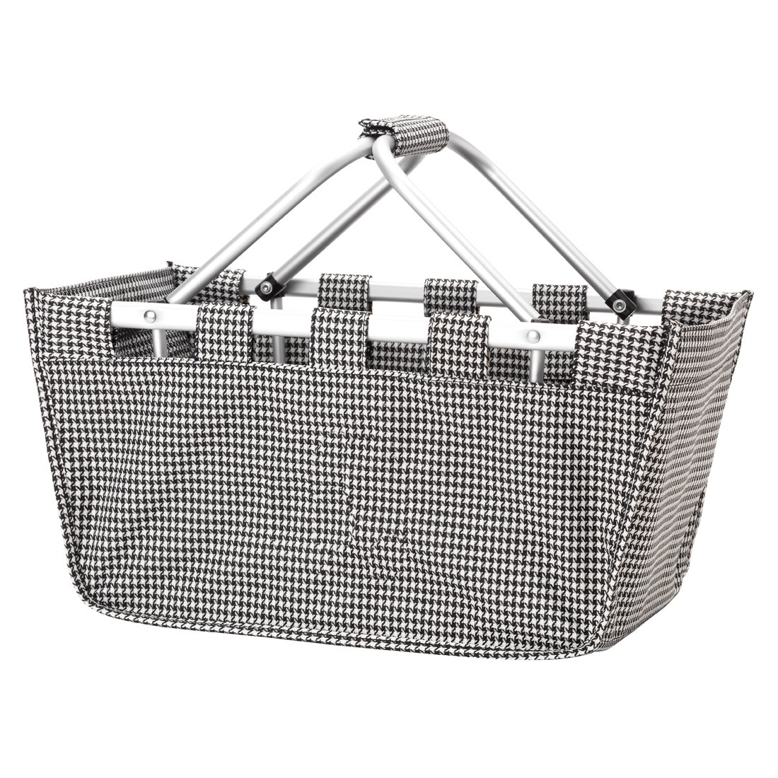 *** Houndstooth Market Tote