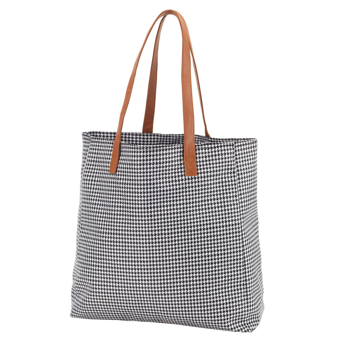 ** Houndstooth Tailgate Tote