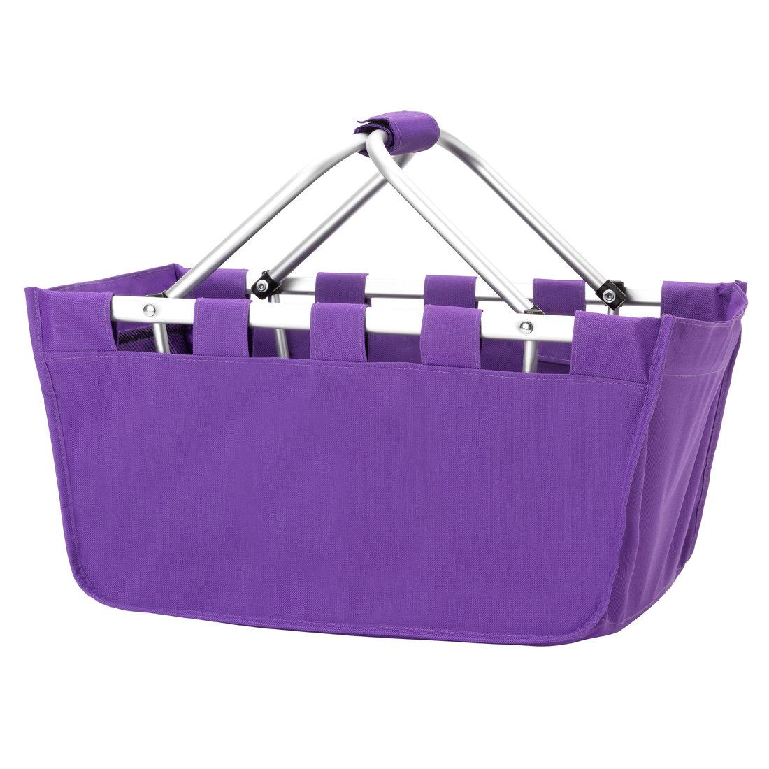 *** Purple Market Tote