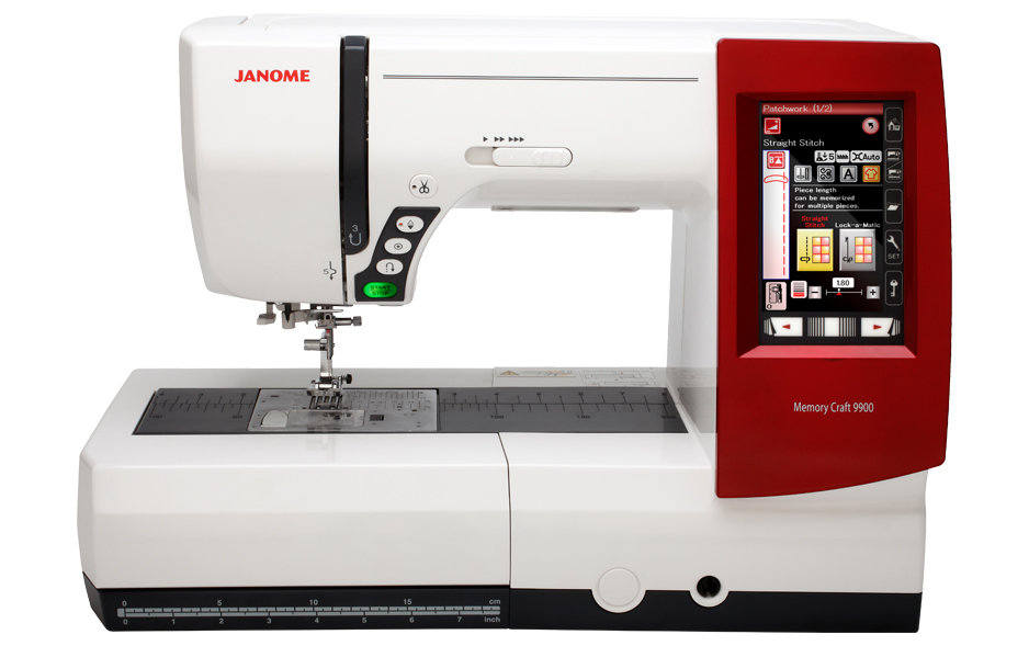 ** Memory Craft 9900 Embroidery/Sewing Machine