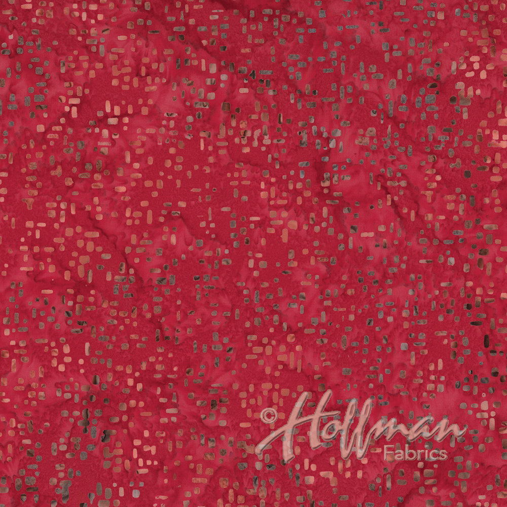 Xxx Bali Batiks - Square Mix Red P2043-5