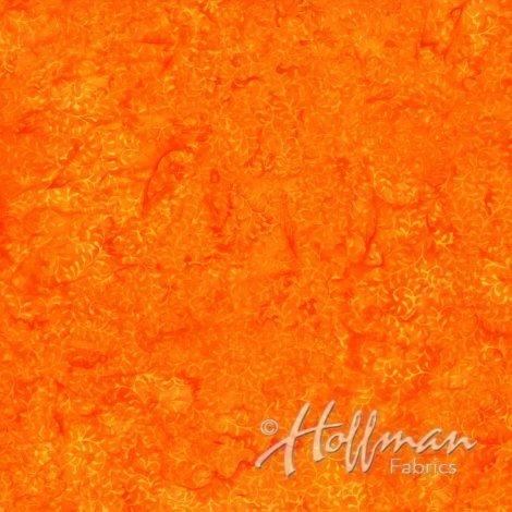 Bali Batiks - Packed Scroll Orange P2053-13
