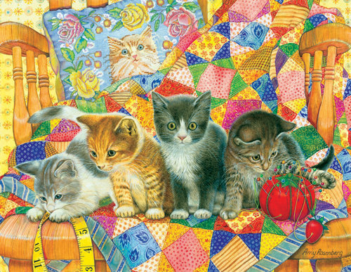 Rocking Kittens Puzzle