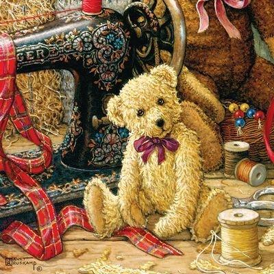 Bear Sewing Machine Puzzle