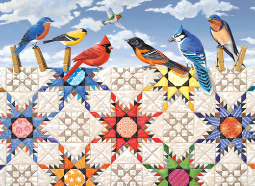 Feathered Stars Puzzle