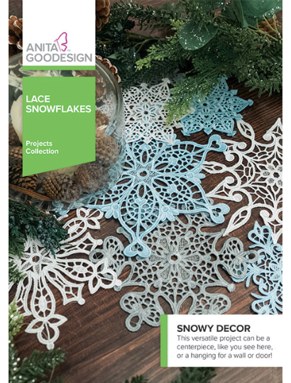 ** Lace Snowflakes Projects Collection