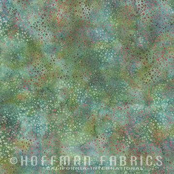 885-79 Seafoam Hoffman Dot Batik