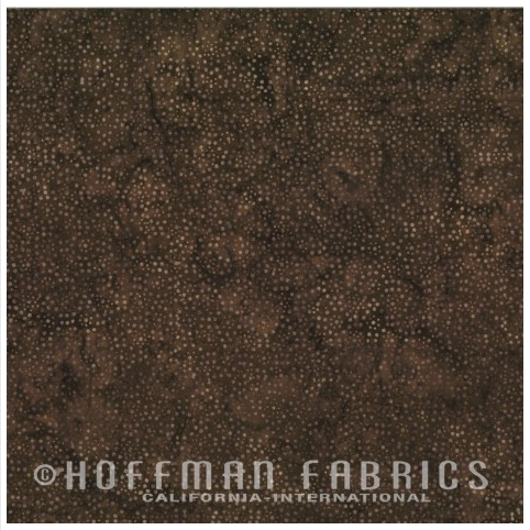 885-502 Coconut Hoffman Dot Batik
