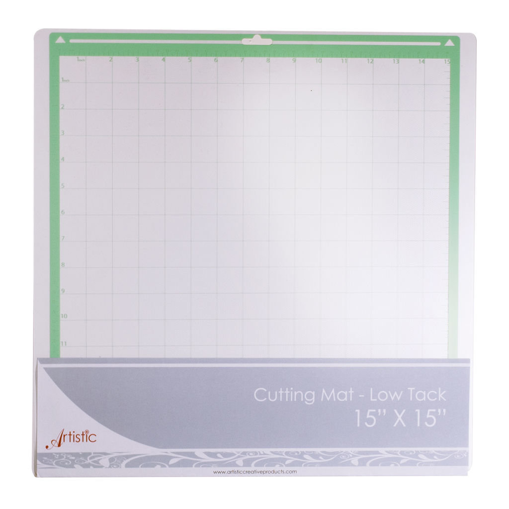 *** Standard (Low Tack) Cutting Mat 15 x 15 for Artistic Edge