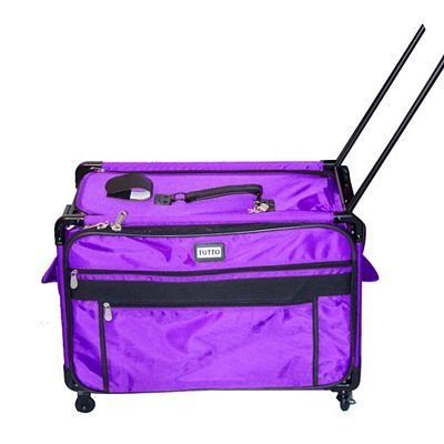 Tutto X-Large Purple Rolling Bag