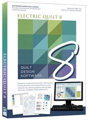 *** EQ8 Electric Quilt 8 Quilt Design Software