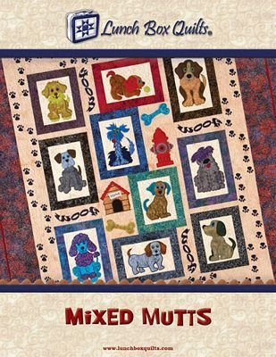 Mixed Mutts Machine Embroidery Patterns with Download