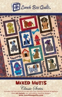 Pattern - Mixed Mutts Classic Series Patterns by Lunch Box Quilts