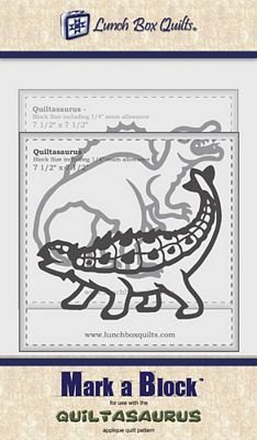 Quiltasaurus Mark-a-Block