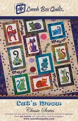 Pattern - Cat's Meow Classic Series by Lunch Box Quilts