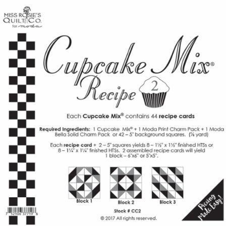*** Cupcake Recipe Cards 2 - 44 ct