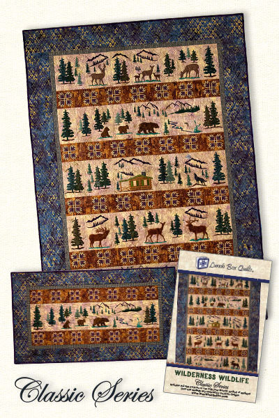 Pattern - Lunch Box Quilts - Wilderness Classic
