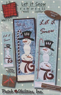 Pattern - Let It Snow by Patch Abilities Inc.