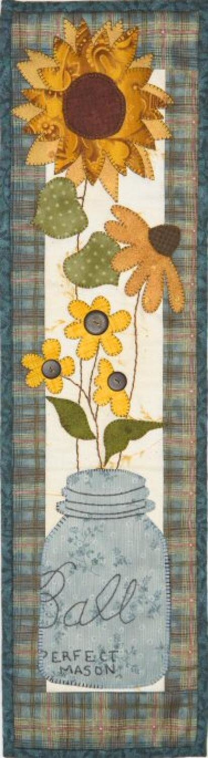 Pattern - Fall Country Flowers by Patch Abilities Inc