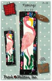 Pattern - Flamingo by  Patch Abilities Inc P115