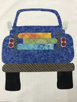 *** Little Old Truck Laser Kit - Blue w/ Pattern