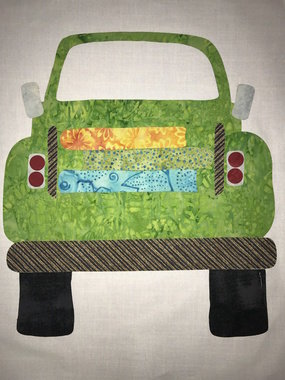*** Little Old Truck Laser Kit - Green