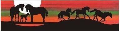 *** 2016 Row by Row - Horse Mountain Scene Laser Cut Kit