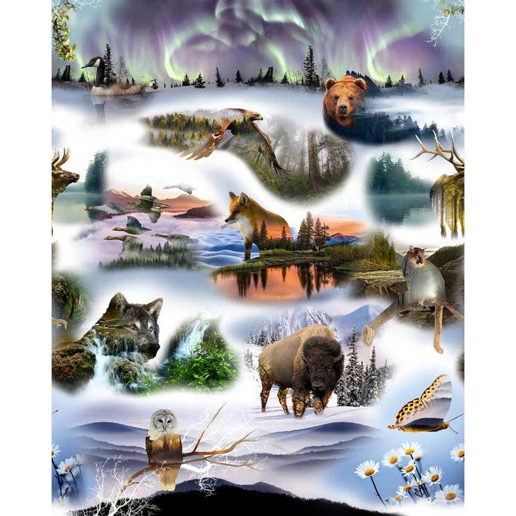 P4313-44 Pristine Wilderness - A Hoffman Spectrum Print