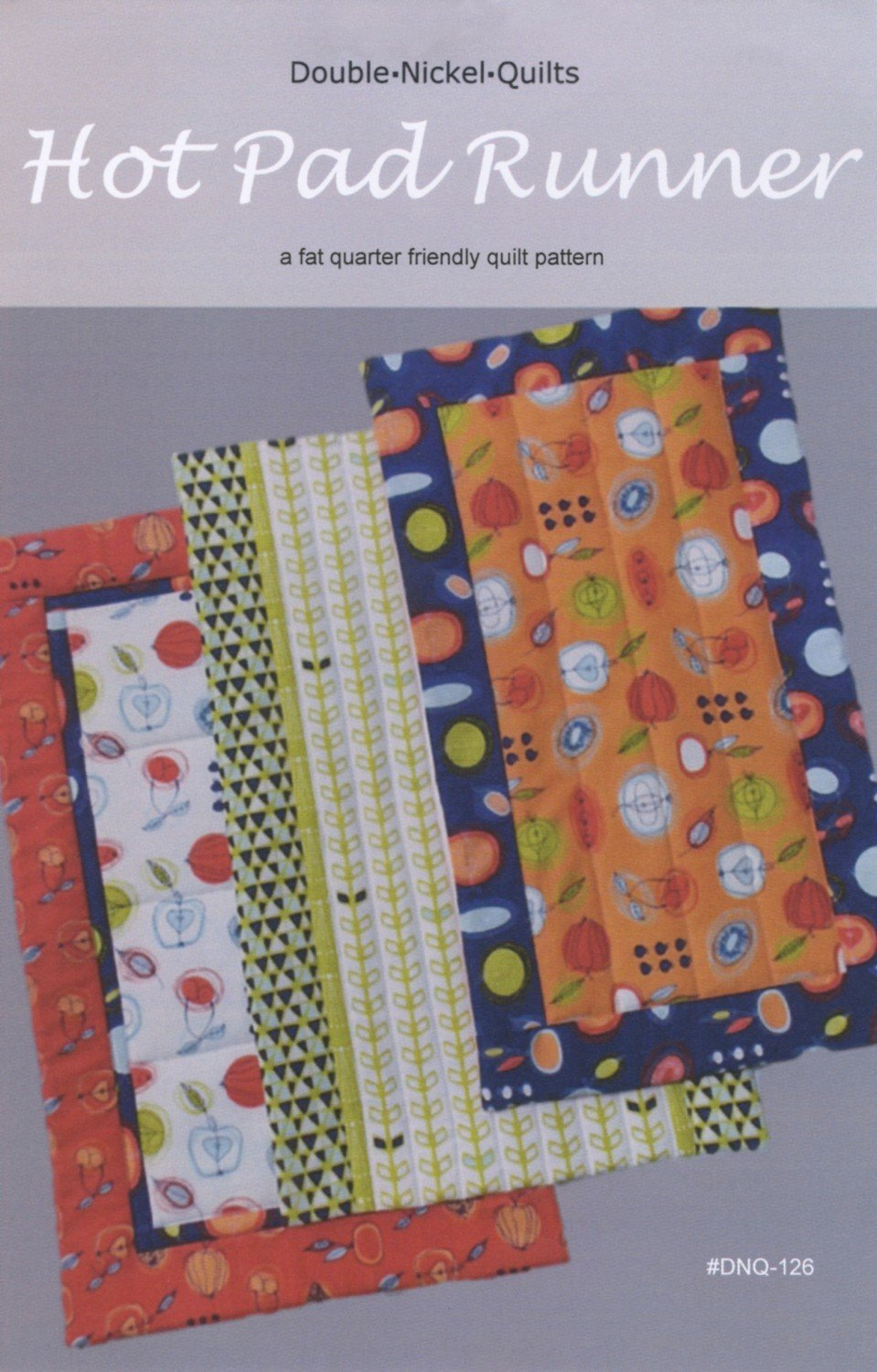 Hot Pad Table Runner Pattern