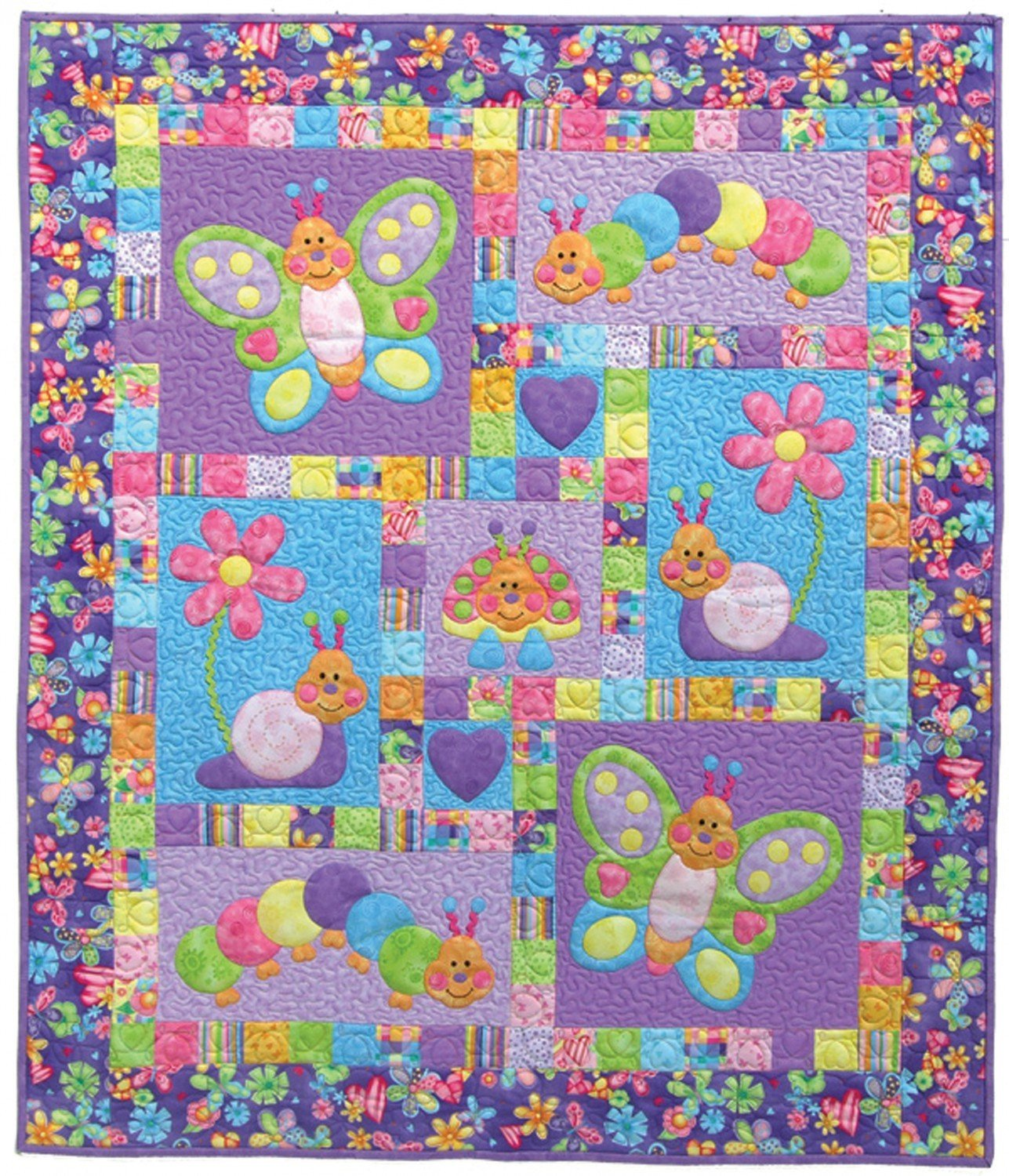 Pattern - Bugsy from Kids Quilts
