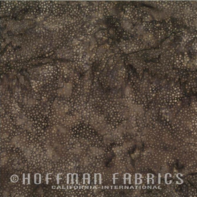 885-514 Brown Sugar Hoffman Dot Batik
