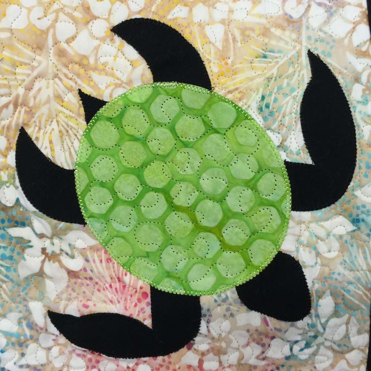Sea Turtle - Laser Cut Applique Shapes - Variety of Colors Available