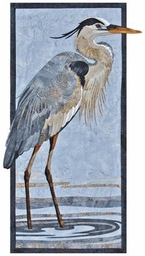 Great Blue Heron by Toni Whitney Designs