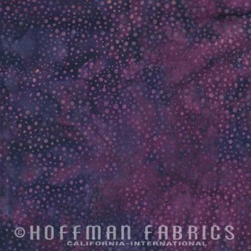 885-14 Purple Hoffman Bali Chops Batik Cotton Fabric