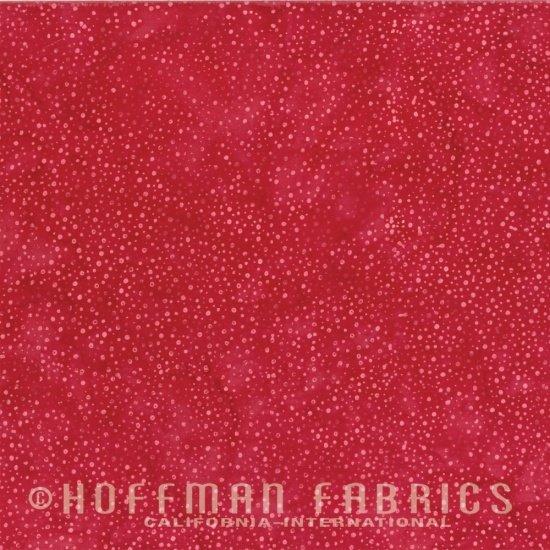 Xxx 885-67 Flame Bali Chops Batik Cotton Fabric by Hoffman