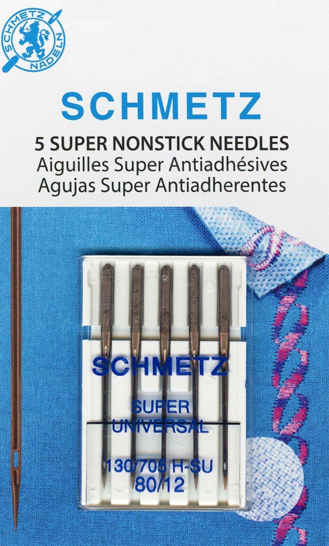 Super Nonstick Needles 80/12  - Set of 5